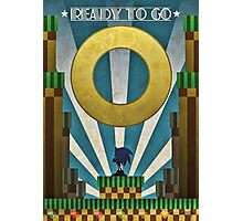 Sonic The HedgeHog - Art Deco Style Photographic Print