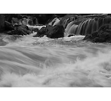 South Yuba River, charging Photographic Print