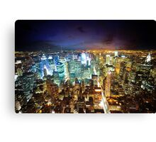 New York - City of Lights Canvas Print