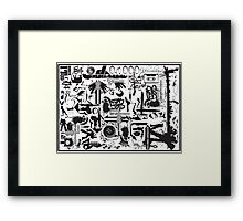 FAT VECTOR Framed Print