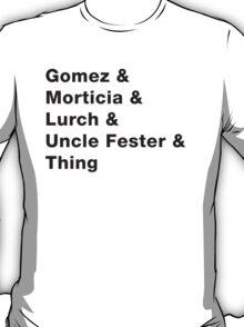 Addams Family - Light T-Shirt