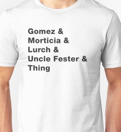 Addams Family - Light Unisex T-Shirt