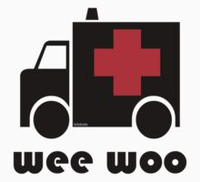 Ambulance- Wee Woo Kids Clothes