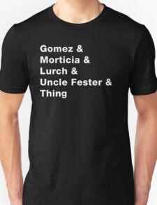 Addams Family - Dark Unisex T-Shirt