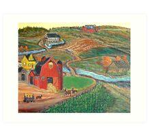 Old Mill Farm Art Print
