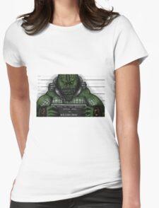 Killer Croc Womens Fitted T-Shirt