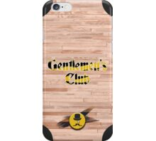 Gentlemen's Club - Phone case iPhone Case/Skin