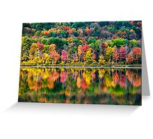 Colorful Fall Landscape Greeting Card