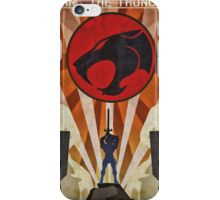Thundercats - Art Deco Style iPhone Case/Skin