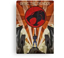 Thundercats - Art Deco Style Canvas Print