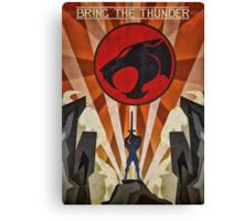 Thundercats - Art Deco Style Canvas Print