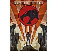 Thundercats - Art Deco Style Photographic Print