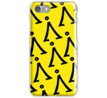 Home symbol [YELLOW] iPhone Case/Skin