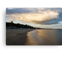 Bournemouth Pier at Sunset Canvas Print