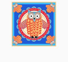 Colorful Night Owl Unisex T-Shirt