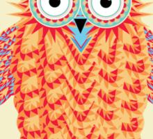 Colorful Night Owl Sticker