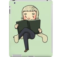 reading them buns off iPad Case/Skin