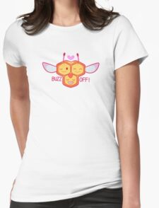 Passive aggressive combee Womens Fitted T-Shirt