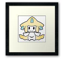 Paper Jirachi Framed Print