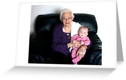 Oma  and Harlyn by Leslie van de Ligt