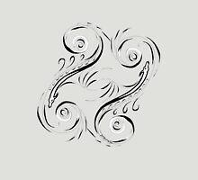 Scroll Sea Serpent Unisex T-Shirt
