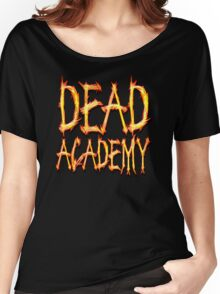 DEAD Academy Square Logo Women's Relaxed Fit T-Shirt