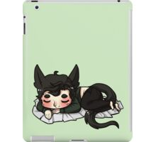 sleeping is a cat's best friend iPad Case/Skin