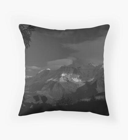 Mont-Blanc-1 Throw Pillow