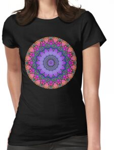 Child of the Sixties Kaleidoscope Womens Fitted T-Shirt