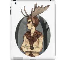 unhappy moosecroft iPad Case/Skin