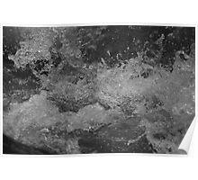 Yuba River splash Poster