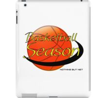 BASKETBALL SEASON iPad Case/Skin