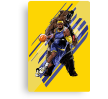 LeBron Unstoppable Canvas Print