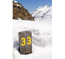 33 Photographic Print