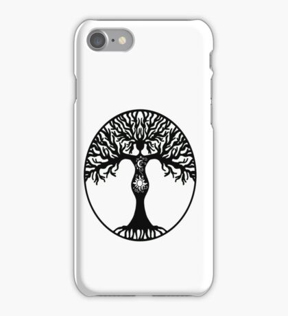 Pagan Goddess Tree iPhone Case/Skin