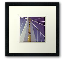 LIFE'S LITTLE GEMS - Color Bay Bridge Framed Print
