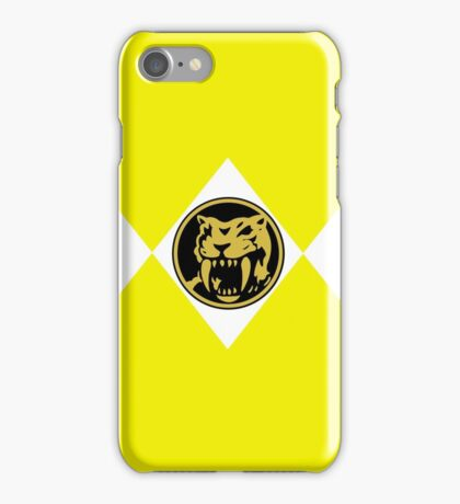 Saber Tooth Tiger Power Coin iPhone Case/Skin