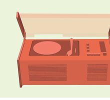 Dieter Rams SK4 Record Player Classic Design by bekindly
