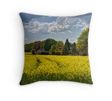 North Downs Way Throw Pillow
