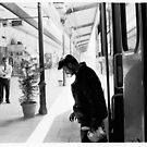 Athens Railway Station IV by Vivi Kalomiri