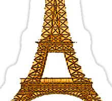 French t-shirt Sticker