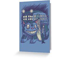 CatTardis Parody Greeting Card