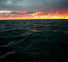 An Angry Sea by Brett Habener