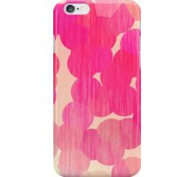 Pink Stained Bubbles iPhone Case/Skin