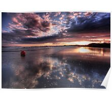 light Over Blackrock Sands Poster
