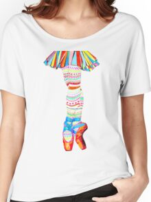 Doodling Ballet Women's Relaxed Fit T-Shirt