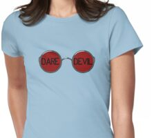 Daredevil Glasses Womens Fitted T-Shirt
