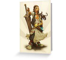 scai: pirate girl Greeting Card