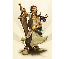 scai: pirate girl Photographic Print