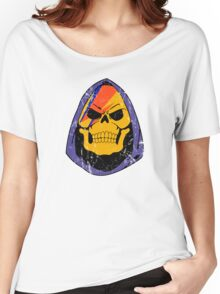 Skulldust  distressed Women's Relaxed Fit T-Shirt